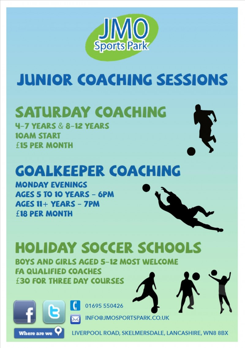 Weekly Junior Coaching sessions