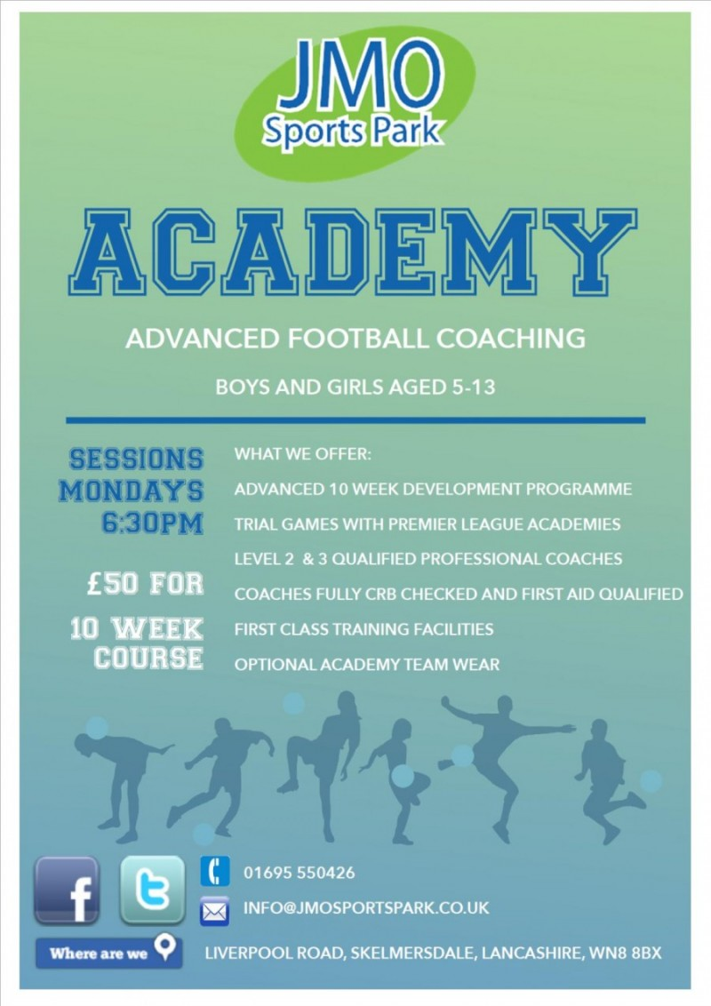 JMO Academy Poster
