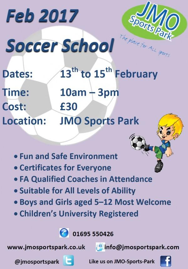 Feb 2017 Soccer School